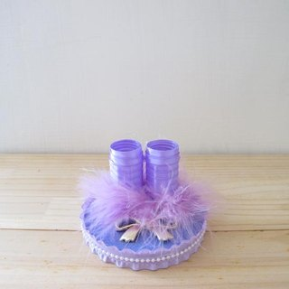 Romantic Wedding Feather Pen Holder