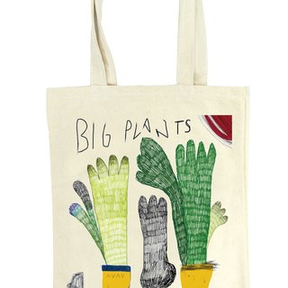 Tote bags - Big Plants
