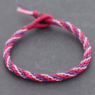Sweet Pink Hand Woven Bracelets Girlfriends Gift For Her Friendship Bracelets