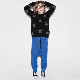 2017aw NUNUNU diagonal baggy pants