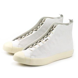 TEXTURE M1164 White leather  sneakers