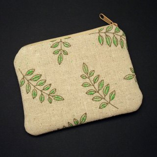Zipper pouch / coin purse (padded) (ZS-225)