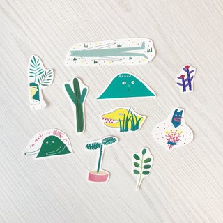 Flowers and Trees | Sticker Pack (10 in)