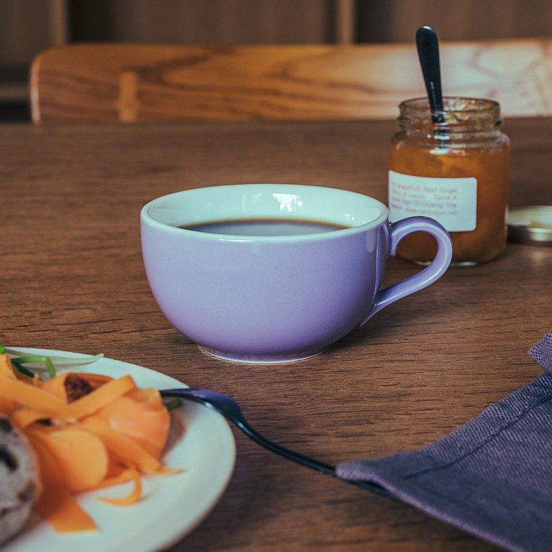 日本ORIGAMI 摺紙咖啡 陶瓷拿鐵碗 250ml 16色 拉花碗