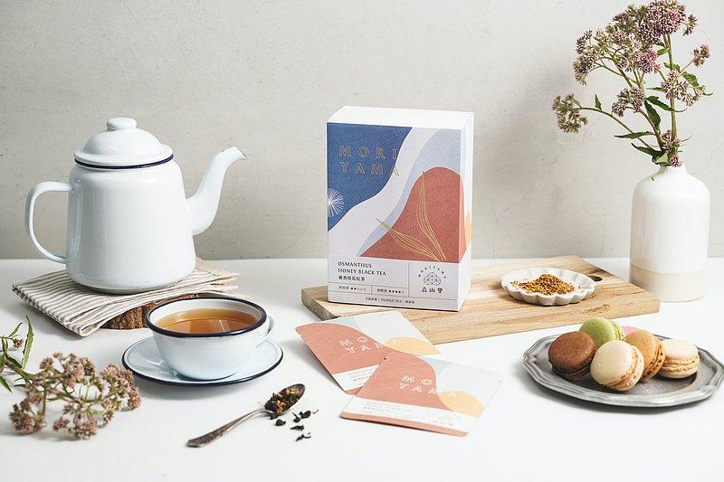 【居家下午茶】蜜香桂花紅茶   手採原葉   天然桂花   三角茶