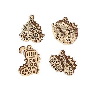 /Ugears/ Ukrainian wooden model itching series - hand itch jingle