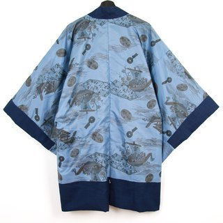 Back to Green Japan brought back a male knit hand-painted treasure vintage kimono