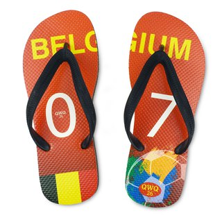 QWQ creative design flip-flops - Belgium - men's [limited]
