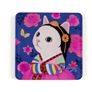 JETOY, Sweet Cat Founder Fridge Cat Magnet (4 * 4cm) _Myeong wol J1707217
