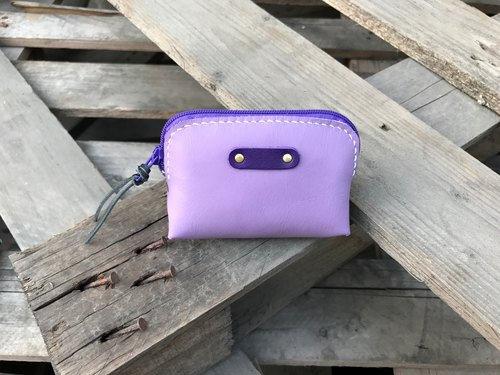 POPO│ Lavender. Purple │ Toast. Square bag│ Real Leather