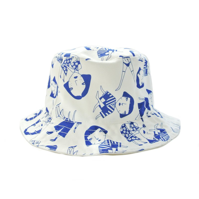 鬥帽 - 藍色