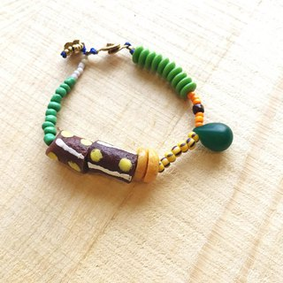 [Cat and Mice • Beads beat Beads] bracelet collection-006 African drums