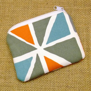 Zipper pouch / coin purse (padded) (ZS-265)