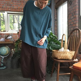Three-dimensional thick double-layer cotton Peng Peng wide pants