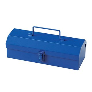 Japan Magnets retro industrial wind small toolbox / pencil case / storage box (blue) - gift recommendation