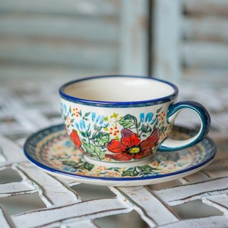 """Polish pottery"" cup set 210ml"