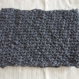 Slab yarn snood(gray)