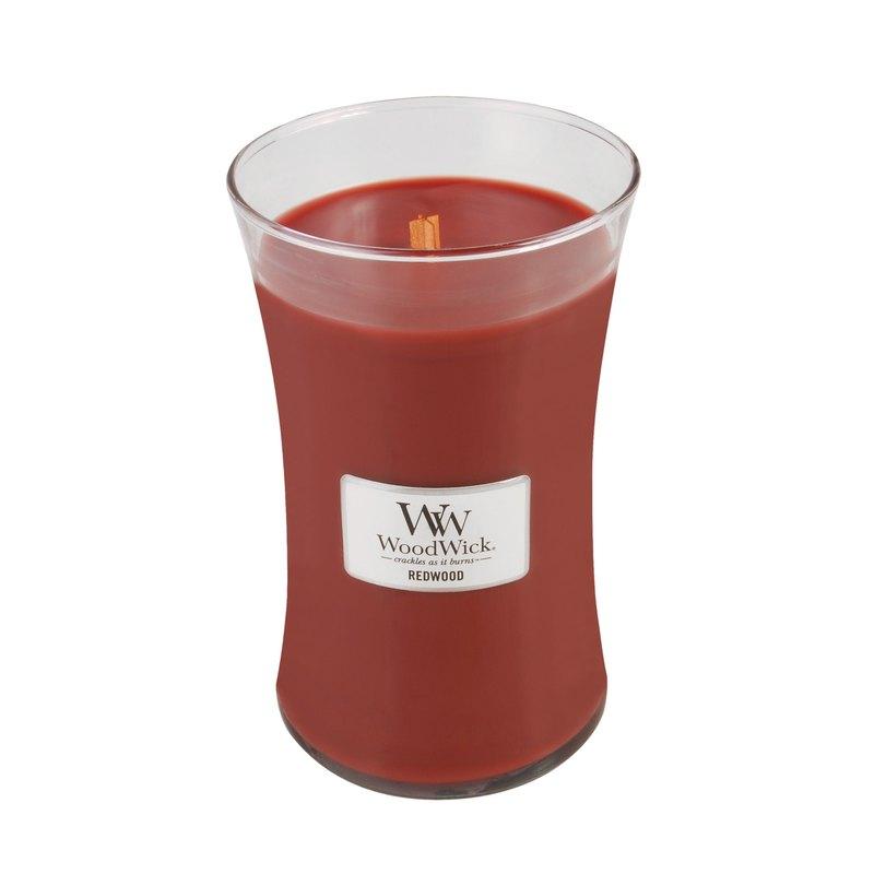 【VIVAWANG】WoodWick香氛大杯蠟  紅杉木