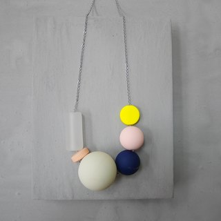 Marshmallow Necklace - PING PONG 001
