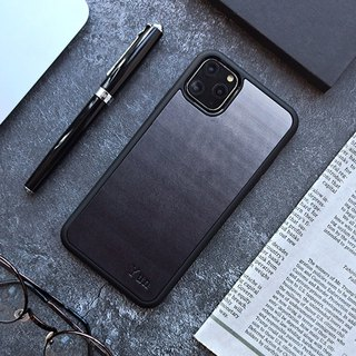 Black iphone xs max xr 6 7 8 plus x leather phone case cover customization