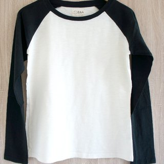 Blank plain long sleeve Long Sleeve Tee (girl models)