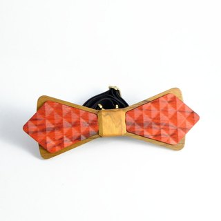 Wooden natural wood tie tie 3D WOOD TIE Millimeter classic black textured valentine collection