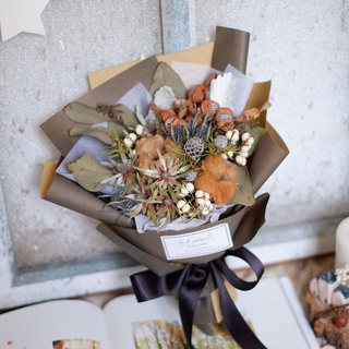 To be continued | Caramel Cotton Dry Flower Bouquet Valentine's Day Graduation Bouquet Spot
