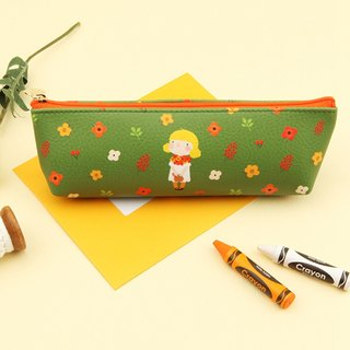 Hello Jenny Pencil Box 02. Green Julie