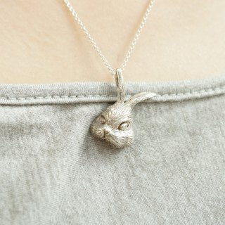Bunny Rabbit Series - Rabbit Sterling Silver Necklace