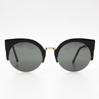 SUPER Sunglasses - LUCIA FRANCIS BLACK GOLD