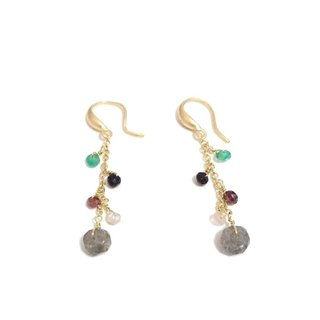 Lovely natural stone earrings