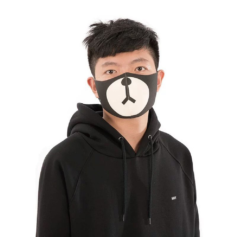 Dark Chocolate Bear - Comfortable Beauty 3D Stereo Breathing Mask