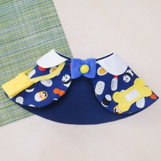 Spot Limited*Japan Kindergarten Pet Shawl S*Panda Sushi