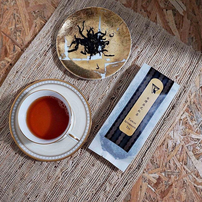 EGRET 台灣英式紅茶50g 自然農法小農栽種