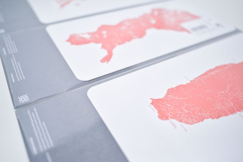 GITAI DESIGN lab. - Post card set / MimeticMaps