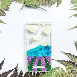 富士山 押花 手機殼 Mount Fuji Pressed Flower Phone Case