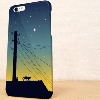 (Free shipping) iPhone case GALAXY case ☆ dusk of cat Sumahokesu