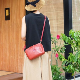 Japanese casual portable dual-use side backpack clutch Made in Japan by CLEDRAN