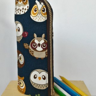 Owl Upright Pencil Bag - Graduate Day Exchange Gift
