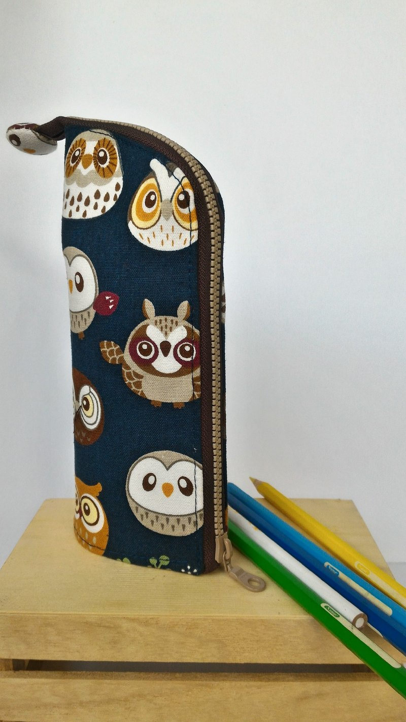 Owl upright pencil case - graduate day exchange gift