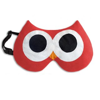 Relief Fatigue / Cold Eye Goggles - Owl shape (orange)