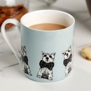 Exclusive agent British Gillian Kyle cute Westie Xisha dog / West Highland White Mue mug