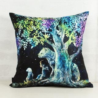 Under the Brilliant Tree - Home Decor Home Decor Pillow Home Furnishings Interior Design Gifts -Yoko Sueyoshi 末 吉 阳子