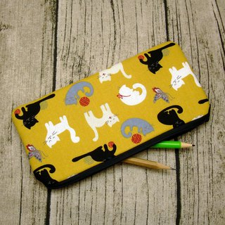 Large Zipper Pouch, Pencil Pouch, Gadget Bag, Cosmetic Bag (ZL-82)