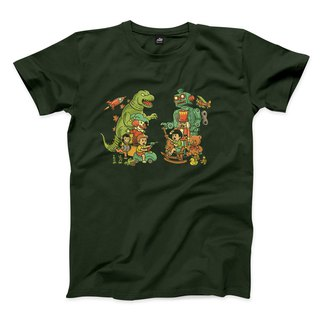 When We Tongling Together - Forest Green - Neutral T-Shirt