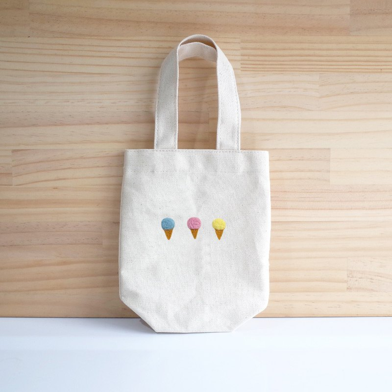 [Q-cute] beverage bag series - colorful ice cream