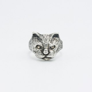 Cat Series / Bad Deed / Silver Ring
