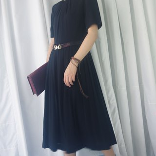 Treasure Hunting - Black Slim Fit Chiffon Dress
