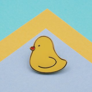 Yellow Duck Lapel Pin