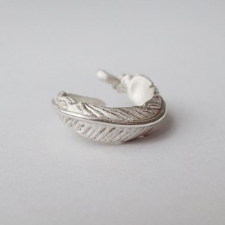 Lightup workshop - ring, feather , Handmade ,Silver